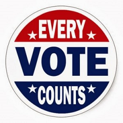 Image saying Every Vote Counts