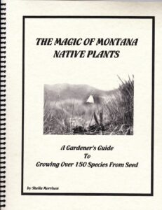 Image showing cover of a book written by Sheila Morrison called A Gardener's Guide to Growing over 150 Species from Seed